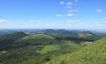 Auvergne and its volcanoes