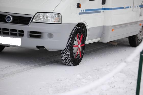 Prepartion Ski Camping Car
