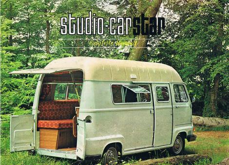 L 39 histoire du camping car caramaps for Interieur estafette