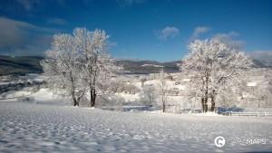 viajar en autocaravana en invierno