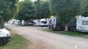 parcheggiare in camper in Francia