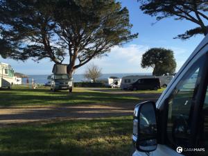 in Frankreich mit dem Wohnmobil zu parken