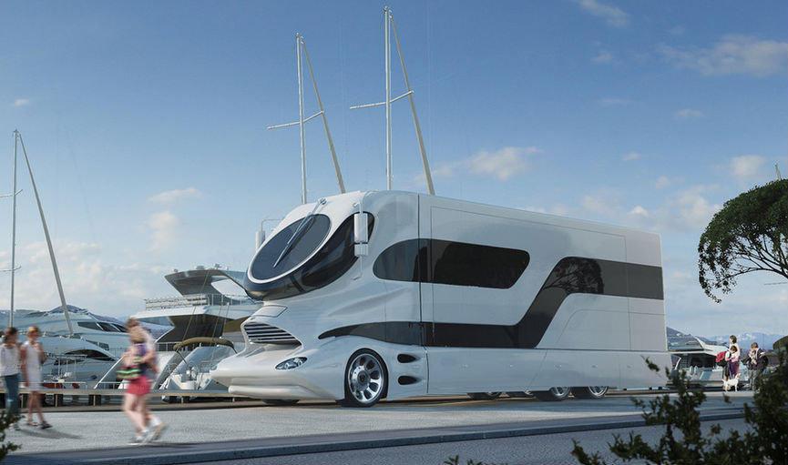 5 Camping Cars Extraordinaires