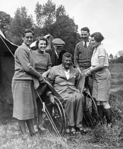 Britain's first motorhome
