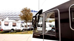 motorhome is the ultimate must-have for sports fans