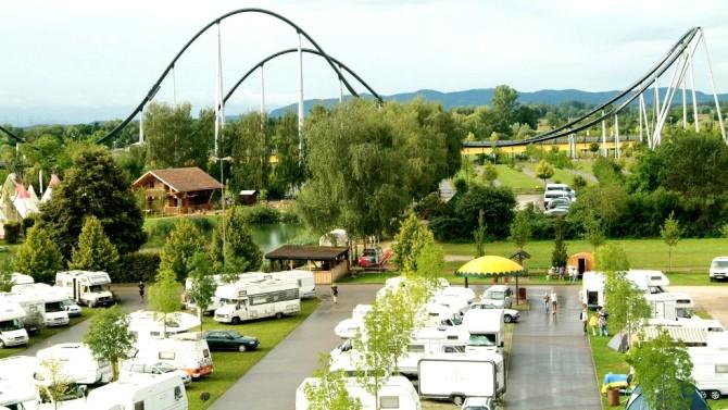 parcs d'attractions à découvrir en camping-car