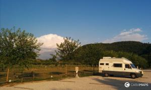 las más bonitas áreas de autocaravanas en Italia