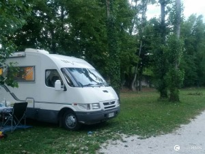 plus belles aires de camping-car en Italie