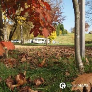 Viajar en autocaravana en otoño