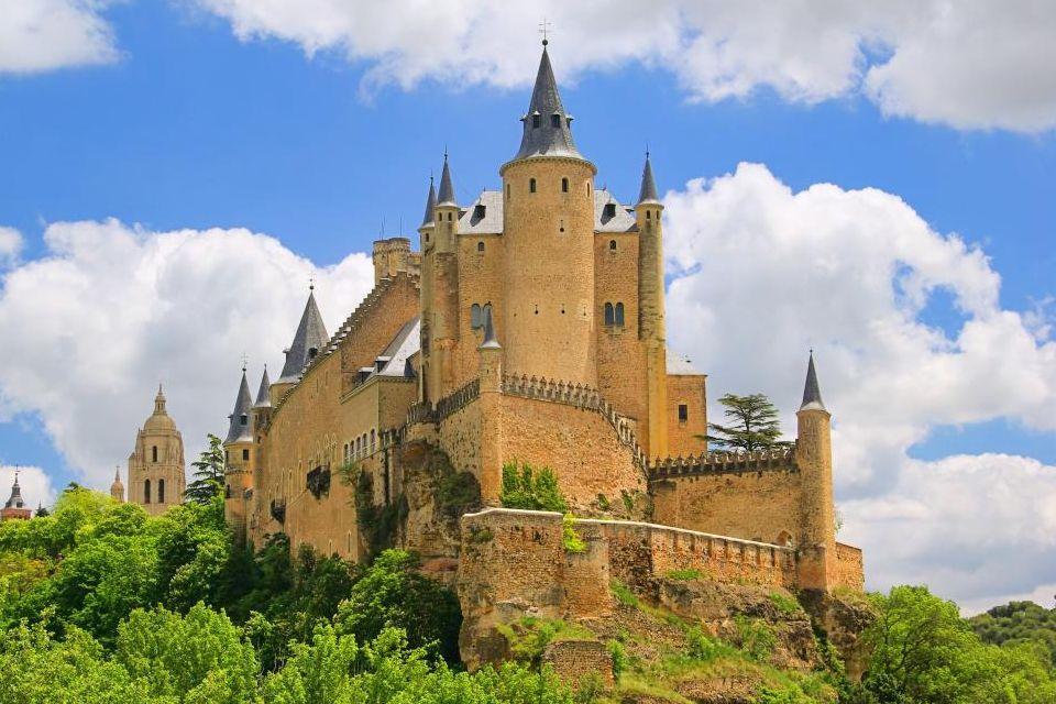 più belli castelli europei in camper