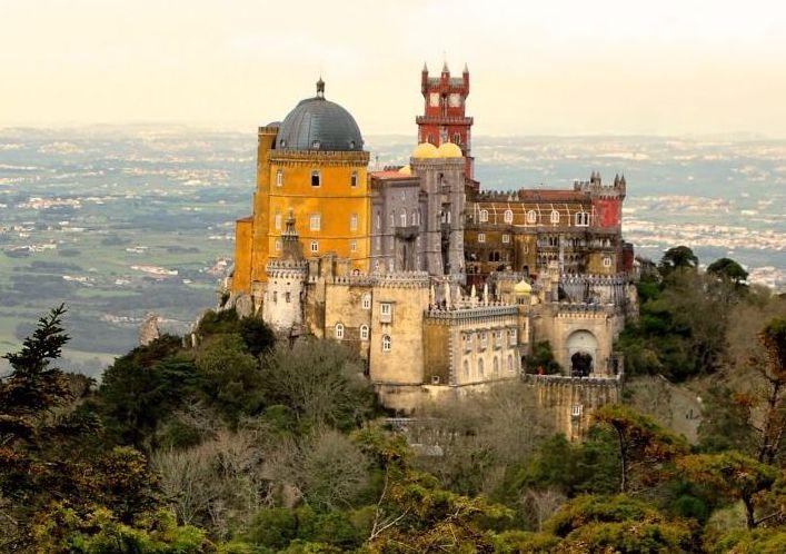 plus beaux châteaux d'Europe en camping-car