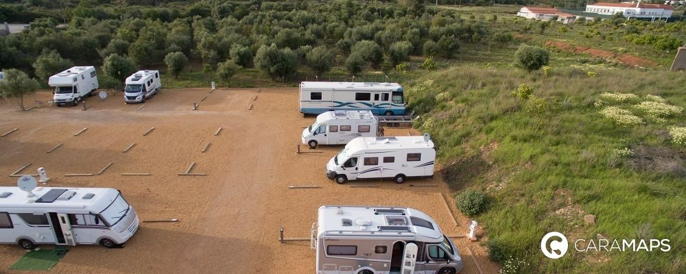 più belle aree di sosta per camper in Portogallo