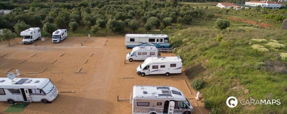 áreas para autocaravanas más bonitas de Portugal