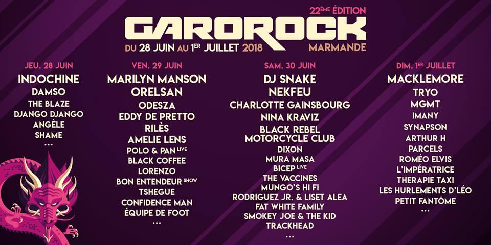 gli eventi di giugno in camper in Francia