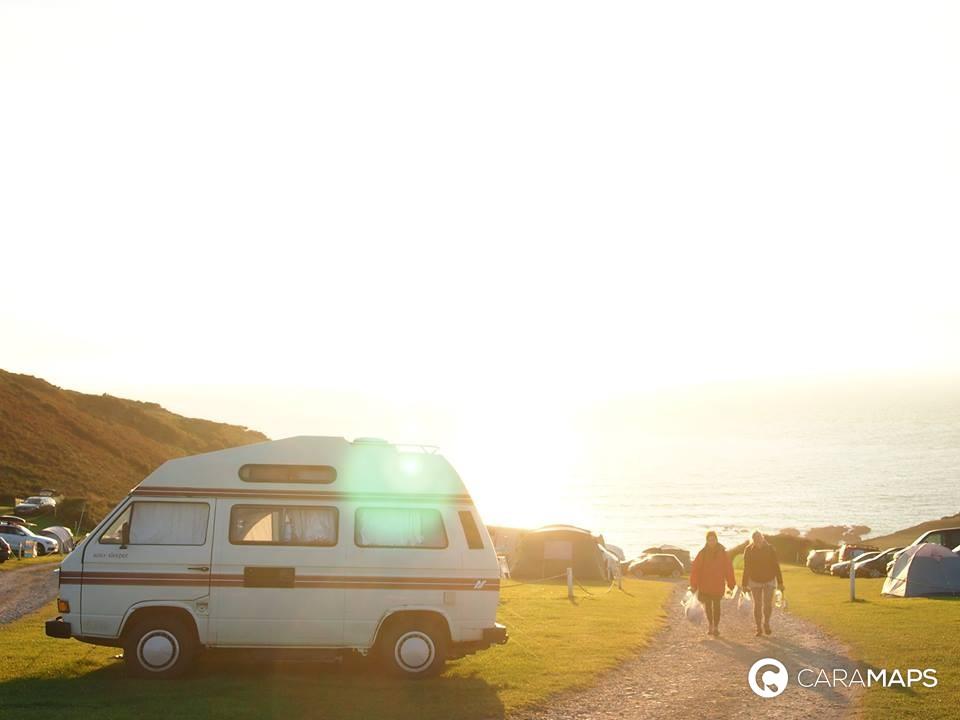 camping-car et surf
