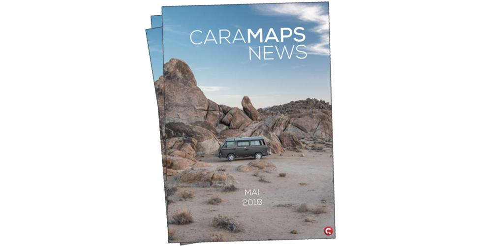 magazines CaraMaps de l'été 2018