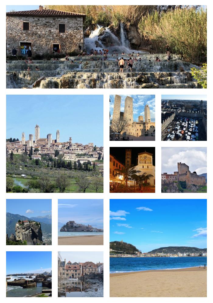 motorhome trip in Tuscany