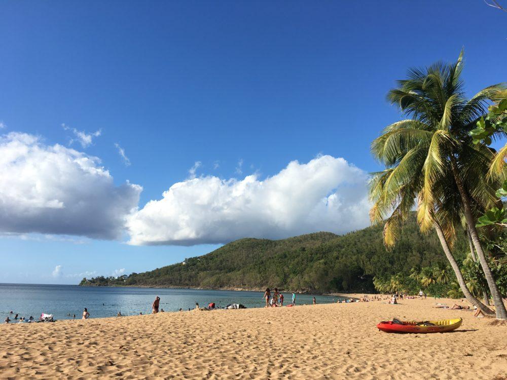 Guadeloupe en van