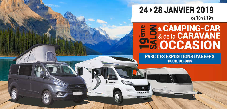 salon du camping-car d'occasion d'Angers