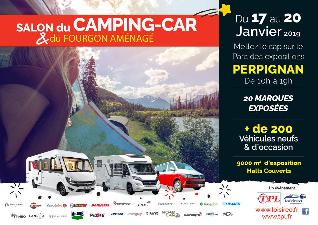 salondu camping-car et du van aménagé de Perpignan