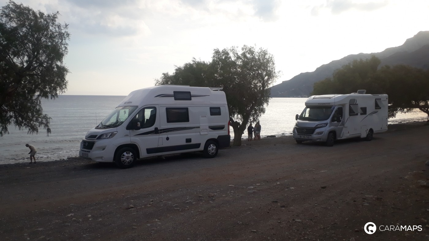 Méditerranée en camping-car