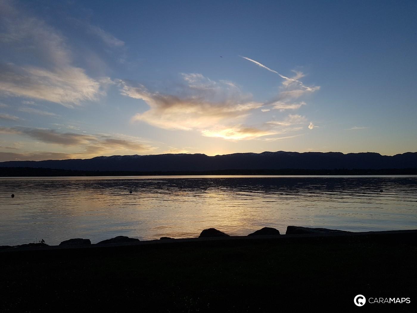 nice trip around lake Geneva