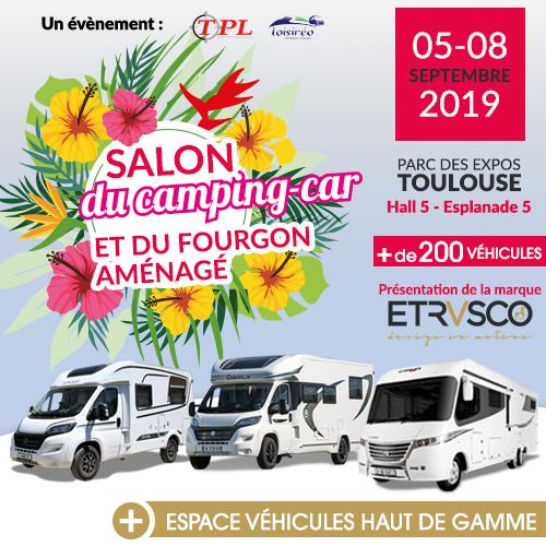 Salon du Camping-car et du Van aménagé de Toulouse