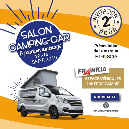 Salon du Camping-car et du Van aménagé de Montpellier