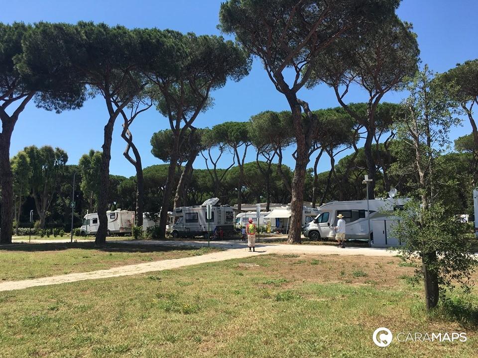 campsites in Rome