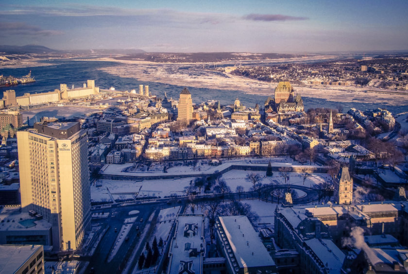 Quebec City by motorhome