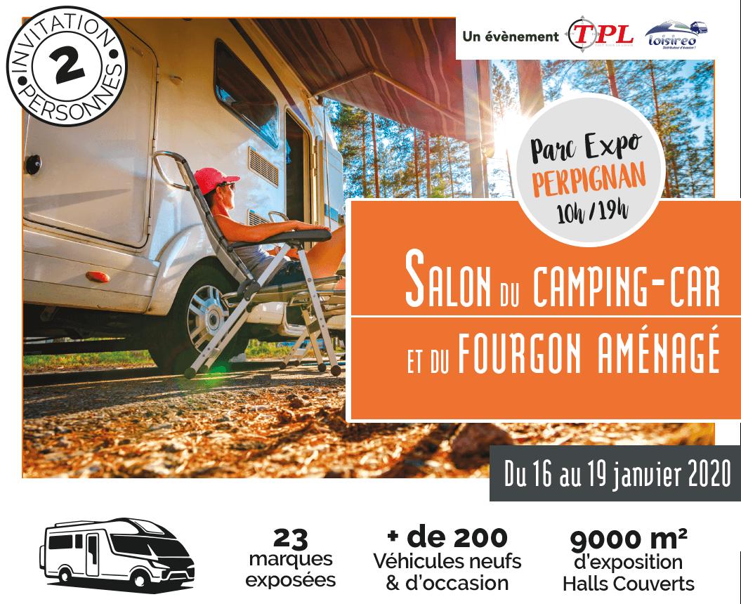 Salon du camping-car et du van aménagé de Perpignan