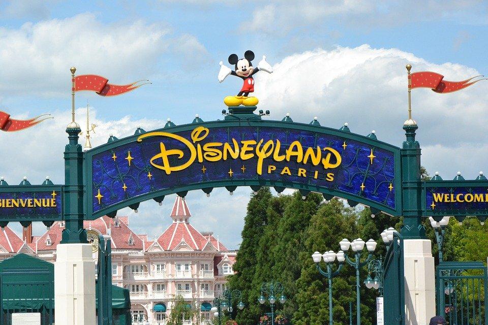 Christmas in Disneyland Paris in Motorhome
