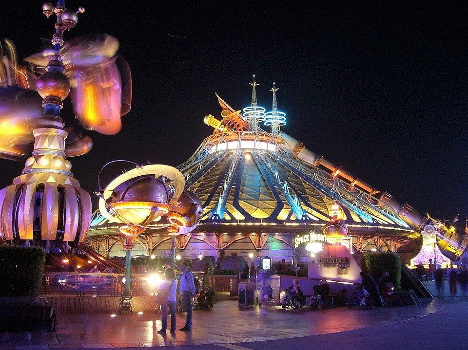 Navidad en autocaravana en Disneyland París