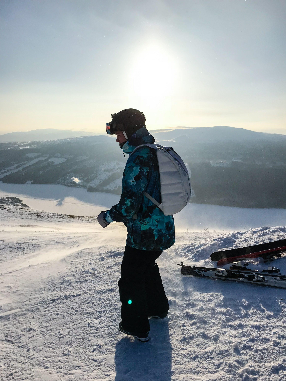 sciare in camper