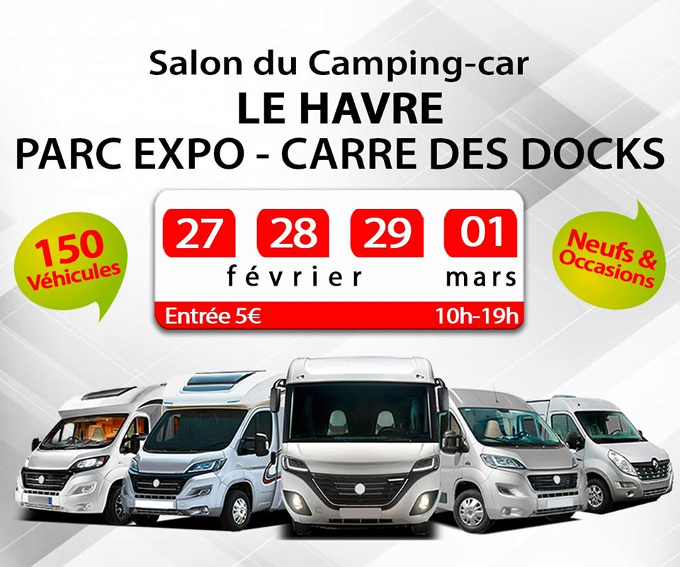 Salon du camping-car du Havre