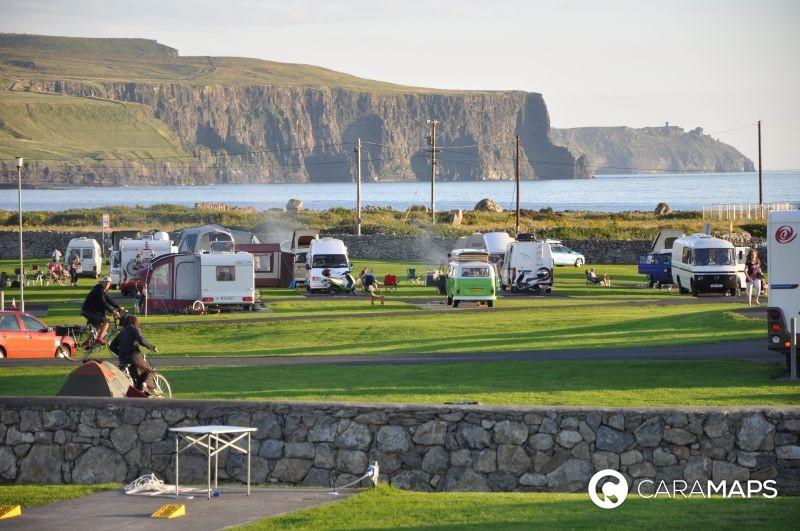 Ireland CaraMaps campsite