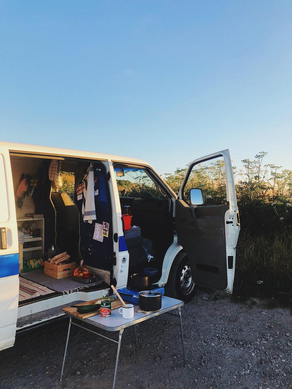 preparare il tuo viaggio in camper