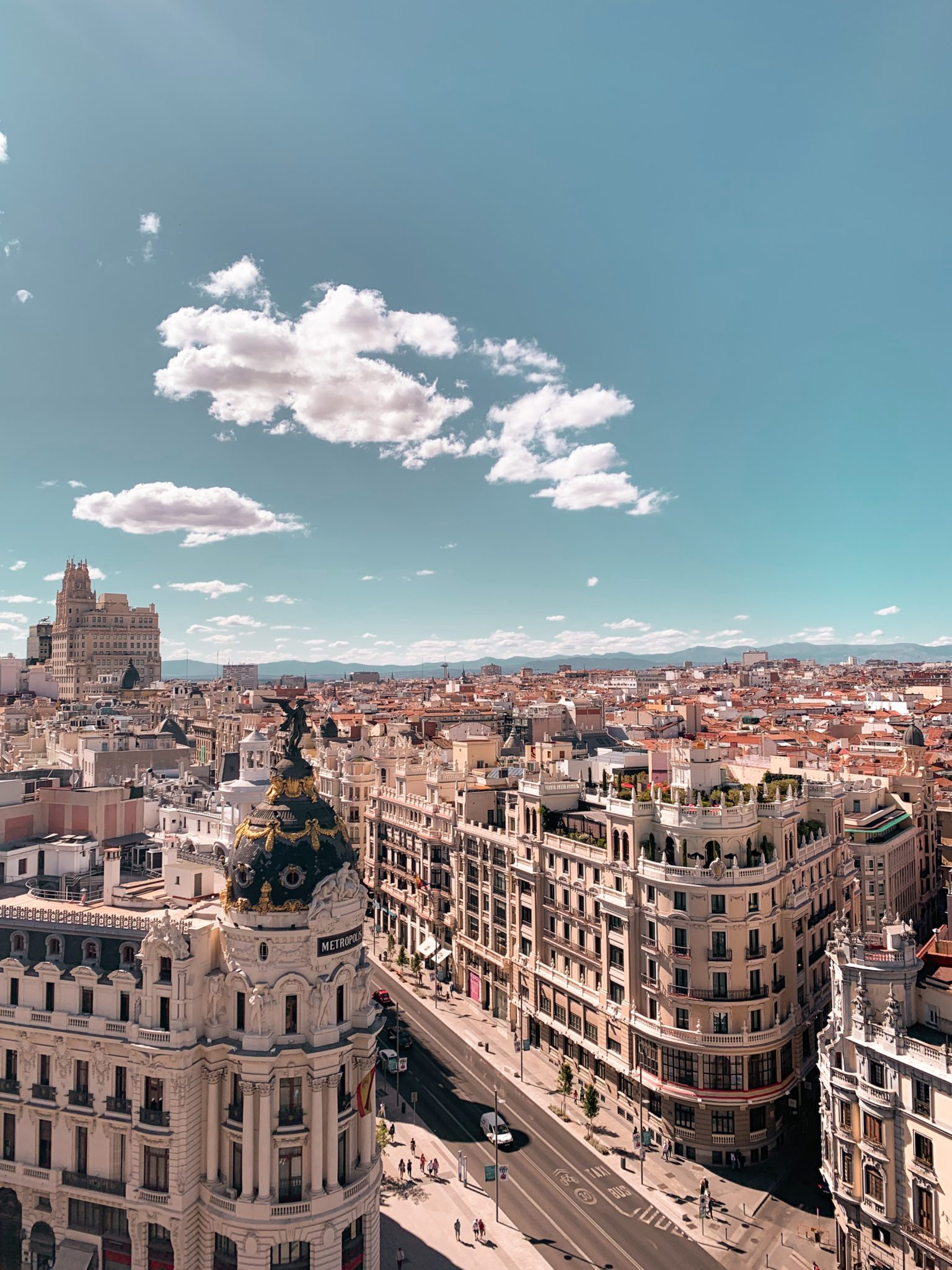 visitar Madrid en autocaravana