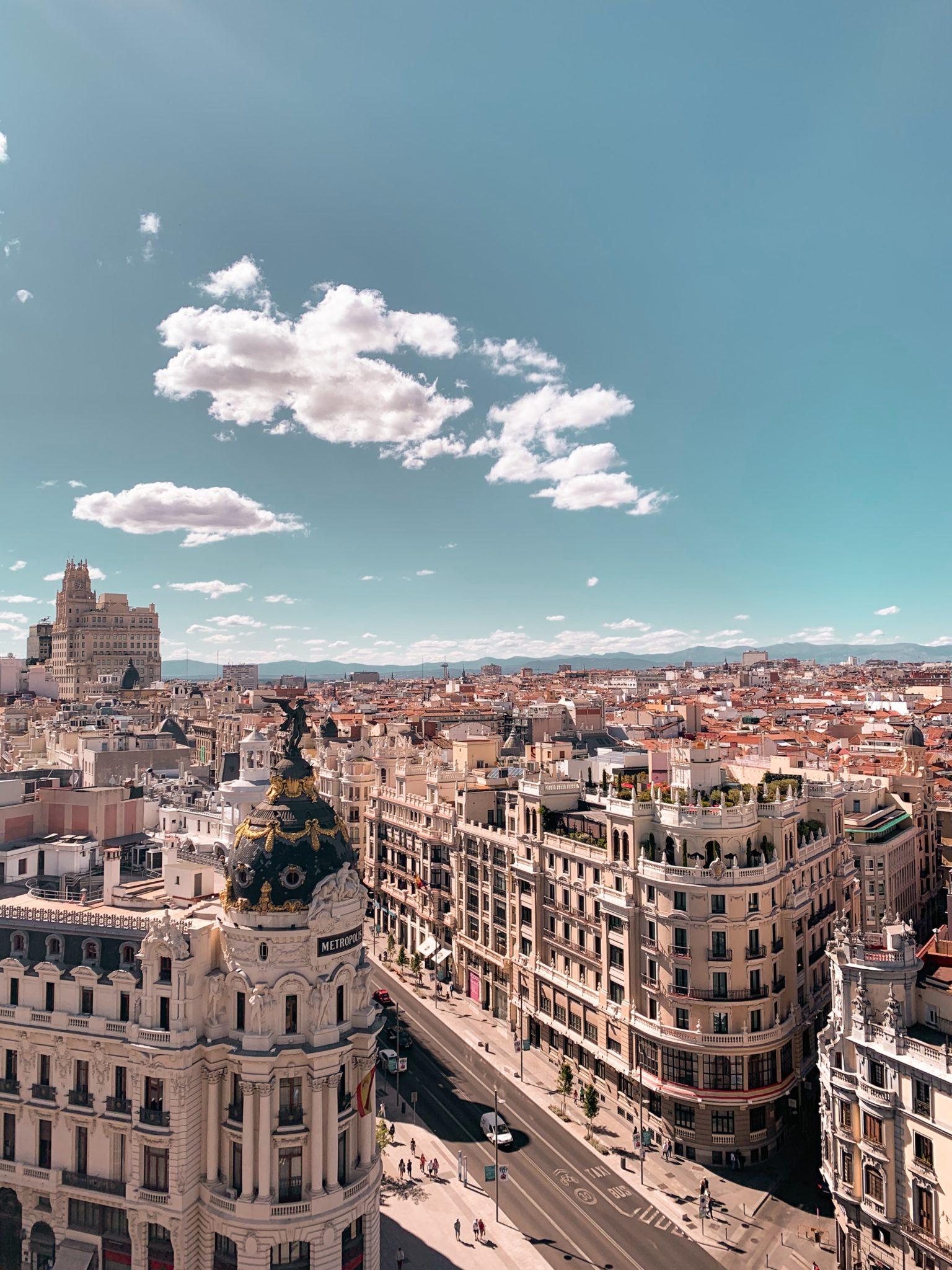 Visitare Madrid in camper