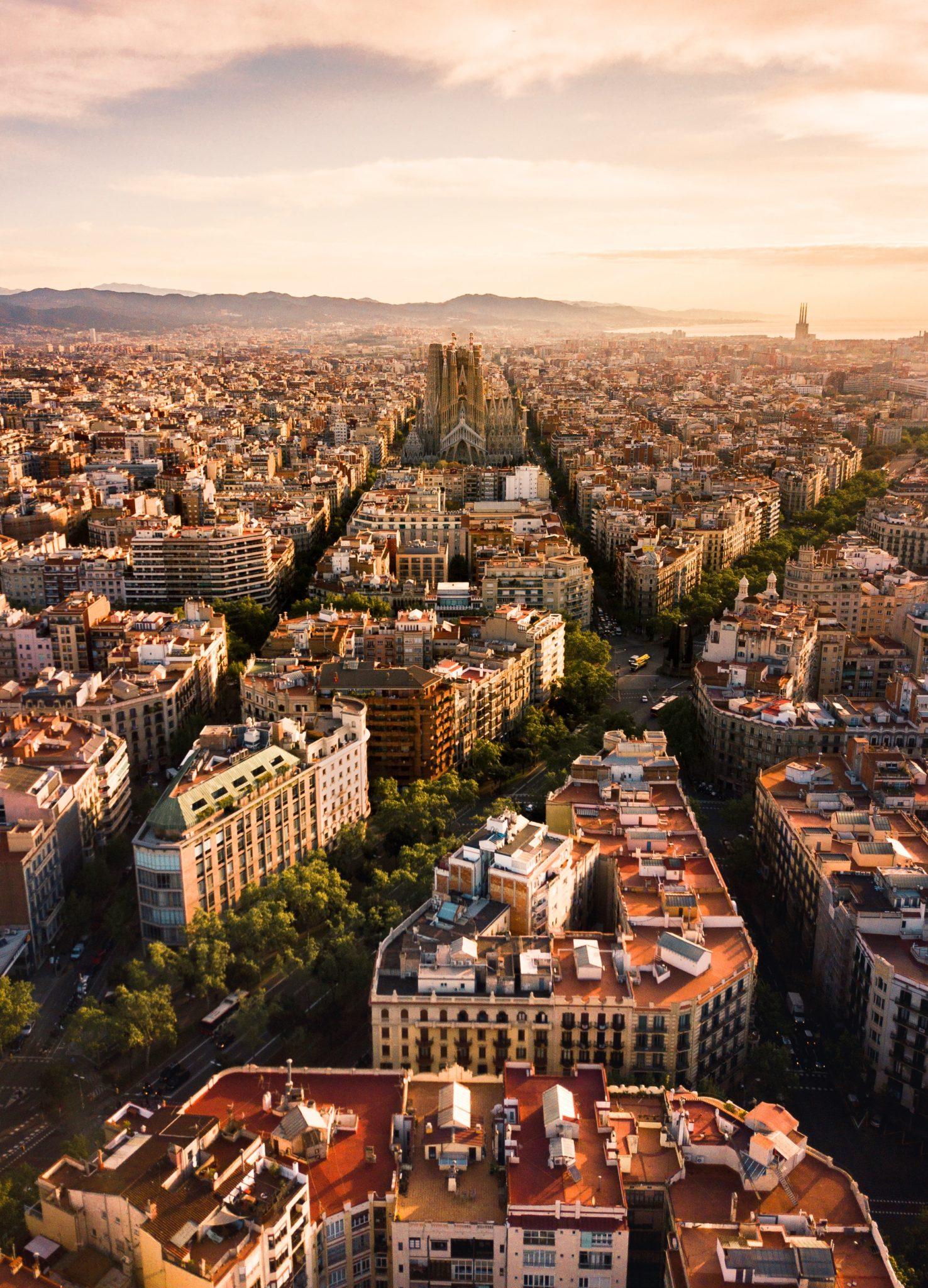 Visitare Barcellona in camper