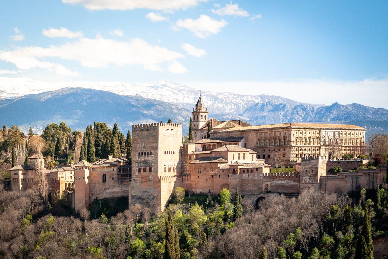 Visitare Granada in camper