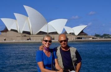 Cesare et Elisabeth à Sidney (Australie)