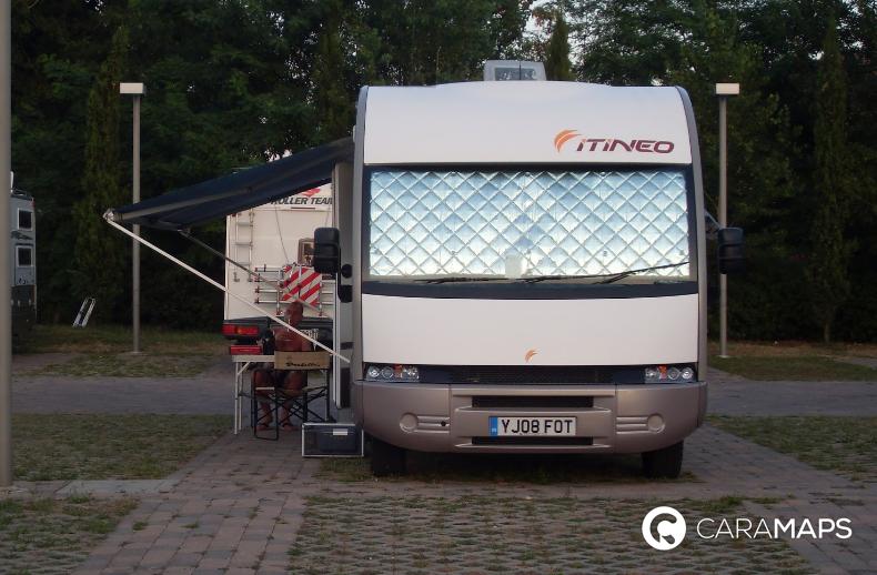 Aire camping-car Garda