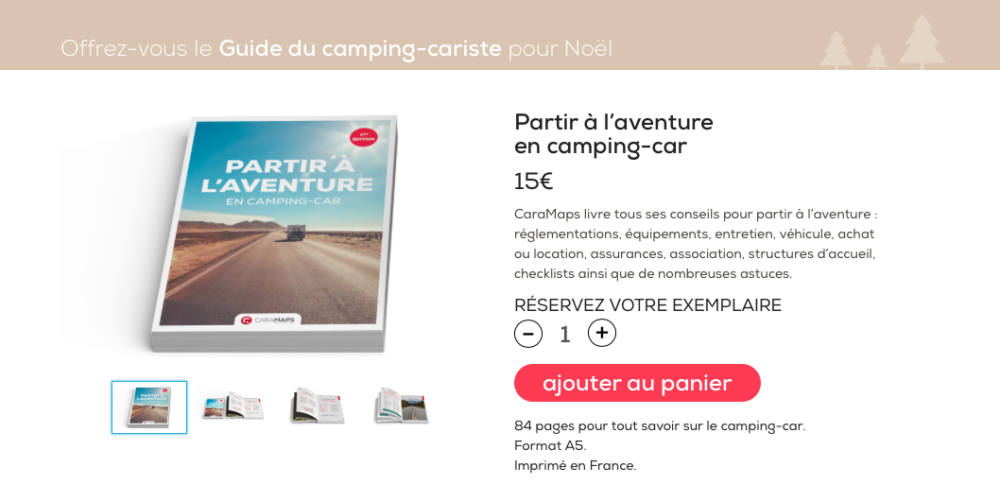 Guide camping-car