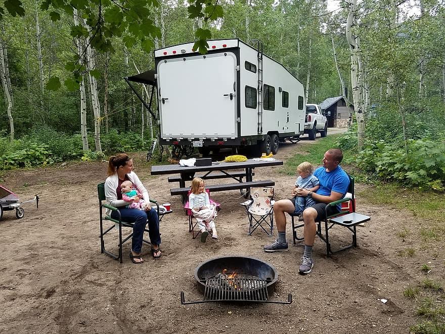 road-trip familial en camping-car