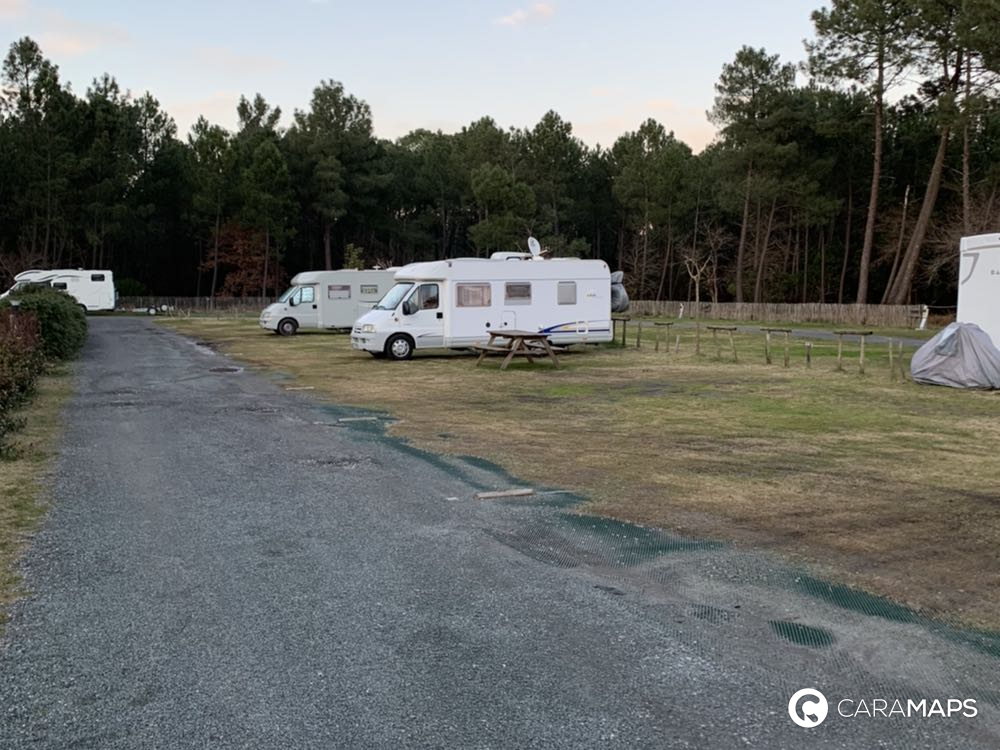 motorhome areas of January