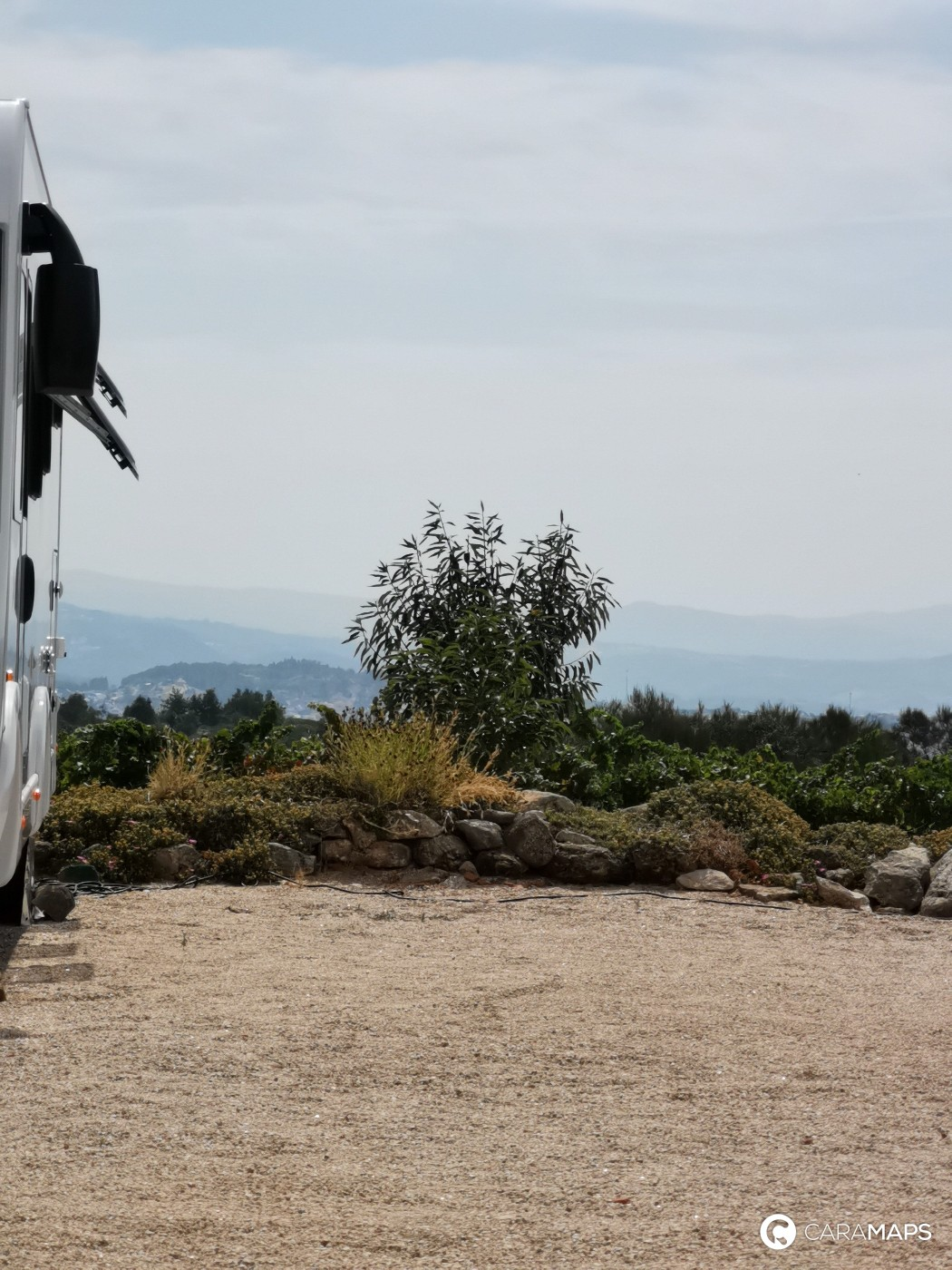 parking in motorhome in Portugal