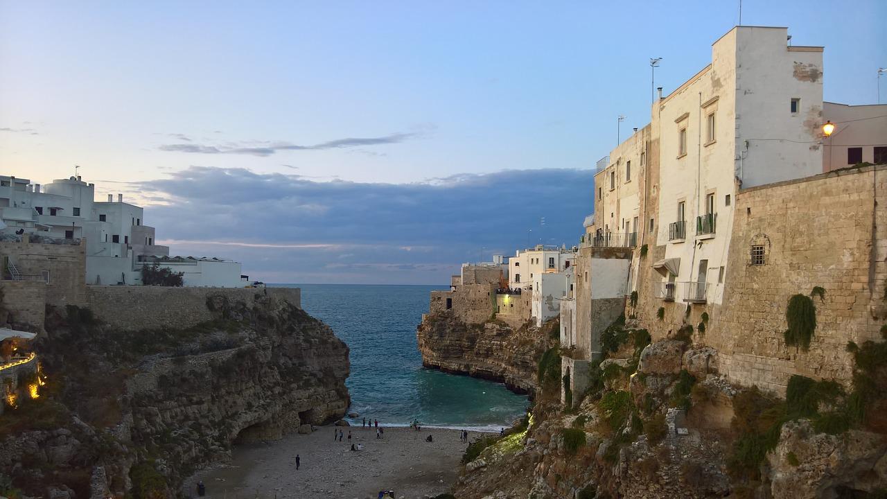 spiagge della Puglia in camper