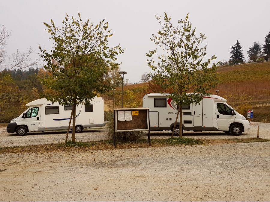 Langhe en camping-car