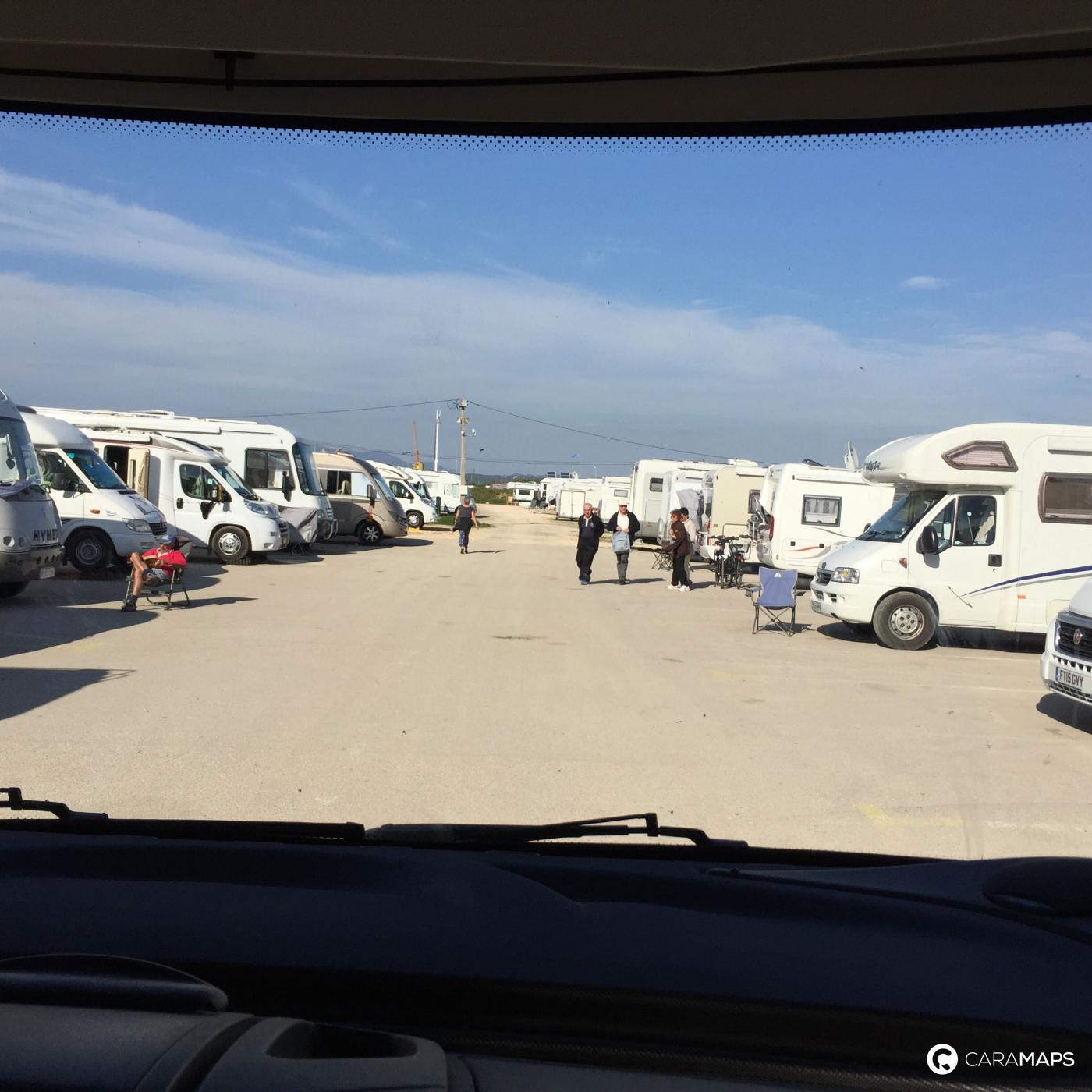 Aire De Stationnement Camping Car Portimao